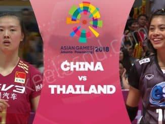 วอลเลย์บอลไทยจีน