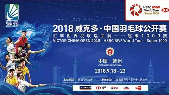 VICTOR CHINA OPEN 2018