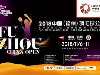 FUZHOU CHINA OPEN 2018