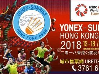 YONEX-SUNRISE HONG KONG OPEN 2018