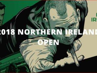 snooker northern ireland open 2018
