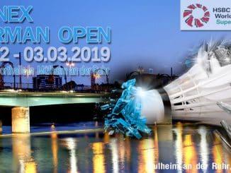 YONEX GERMAN OPEN 2019