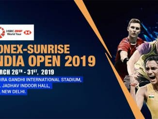 YONEX-SUNRISE INDIA OPEN 2019