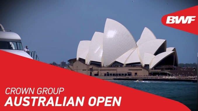 CROWN GROUP AUSTRALIAN OPEN 2019
