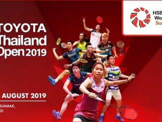 Thailand Open 2019