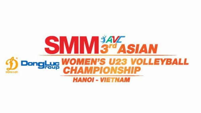 2019 ASIAN WOMEN'S U23 VOLLEYBALL CHAMPIONSHIP